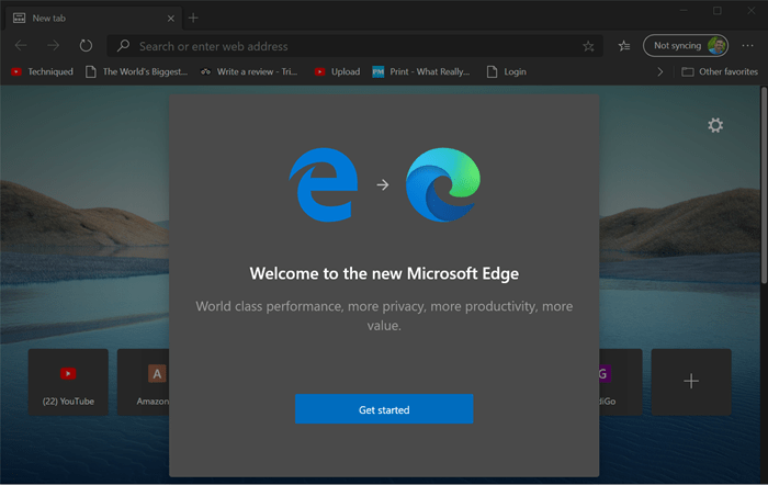 download new Edge browser