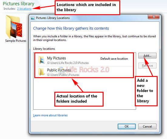 Libraries_add new