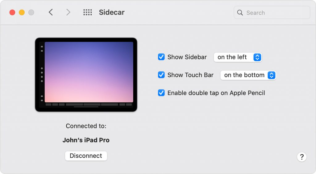Use iPad as Second Display for macOS