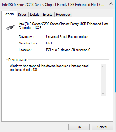 Mouse not Detected on Windows 10
