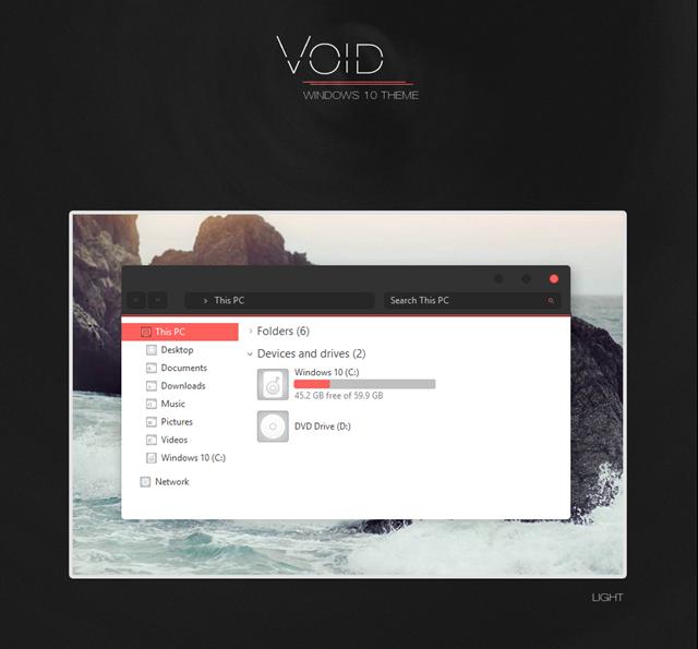 void theme