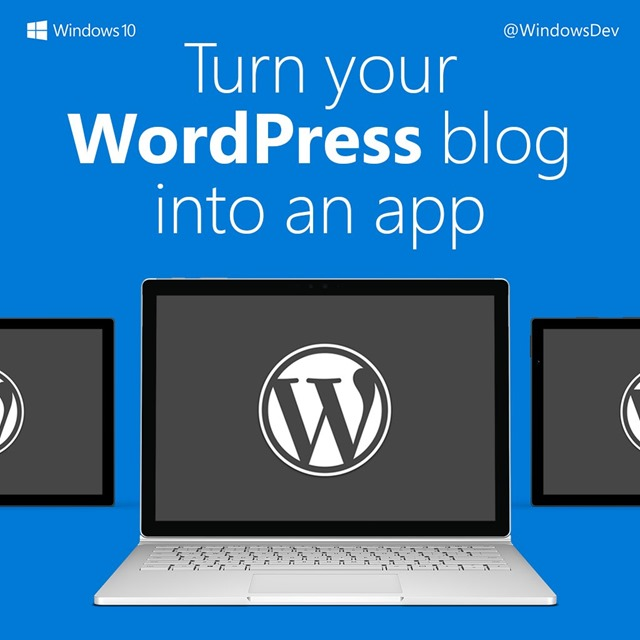 windows 10 wordpress app