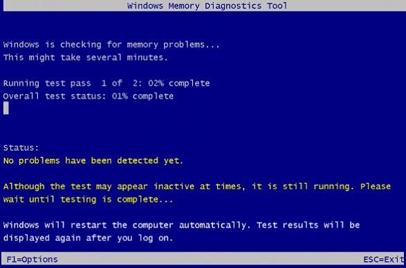 Diagnose Memory Problems on Windows 10