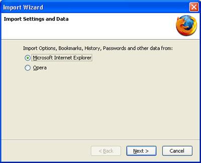 Import Wizard